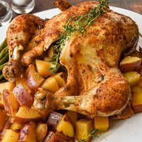 Instant Pot Whole Chicken One-Pot Meal (Paleo, Whole30, Low FODMAP)