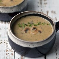 Instant Pot Cream of Mushroom Soup (Paleo, Whole30, Dairy-Free)