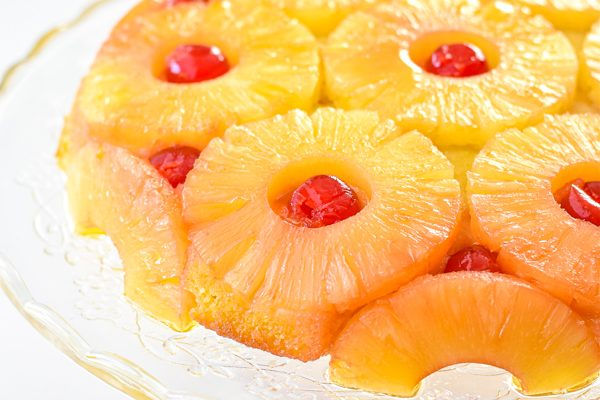 Pineapple Upside Down Cake (Low FODMAP, Gluten-Free, Paleo Option)