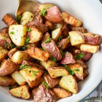 Air Fryer Red Potatoes (Paleo, Whole30, Low FODMAP)