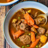 Instant Pot / Slow Cooker Beef Stew (Low FODMAP, Whole30, Paleo Option)
