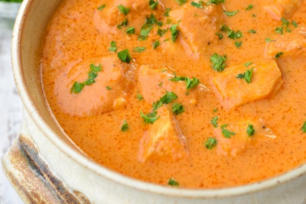 Instant Pot Butter Chicken (Low FODMAP, Paleo, Whole30)